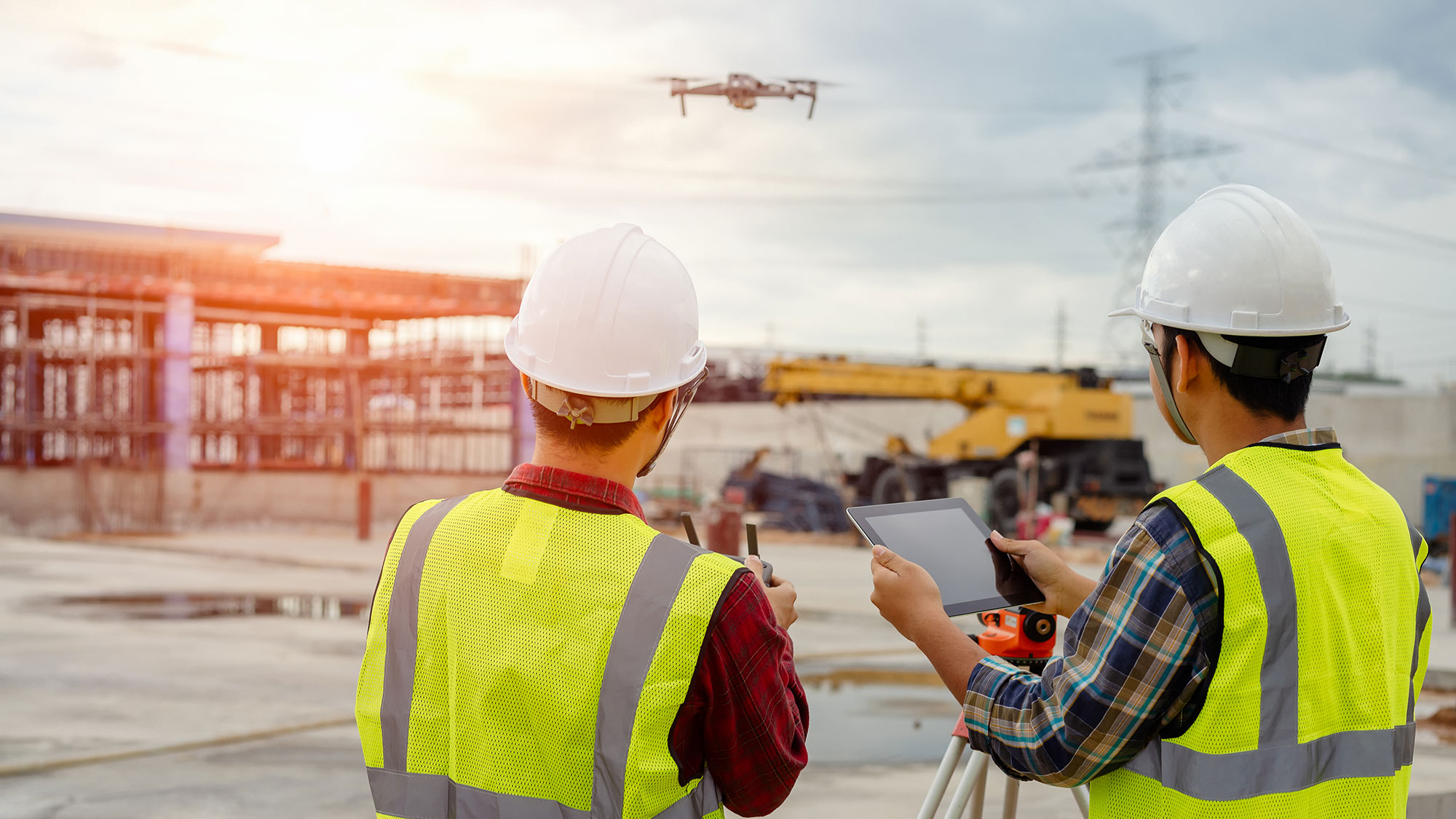 Drones in Construction: How Drones Are Helping Construction Companies